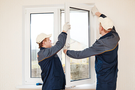 London glazing service of fitting glass window